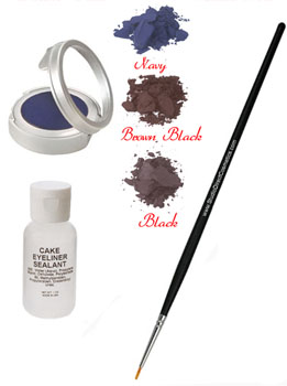Click to Enlarge Studio Direct Cake Eyeliner Kit Color Selection Chart