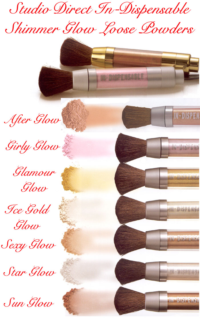 Indispensable Shimmer Glow Loose Powder Cosmetic Makeup Color