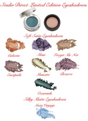 Soft N Silky Limited Edition Eyeshadows