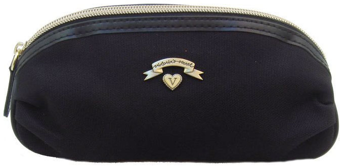 055264a89f7f Click to Enlarge Victoria s Secret Love Spell Black Cosmetic Makeup Bag