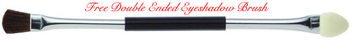 Free Double Ended Eyeshadow Brush