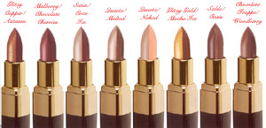 Studio Direct Specialty Duet Lipstick Color Selection Chart