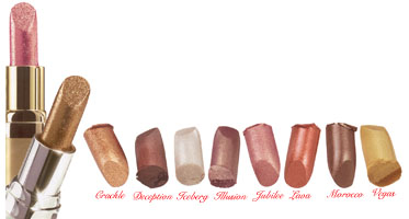 Studio Direct Lip Sparkle Lipstick Color Selection Chart