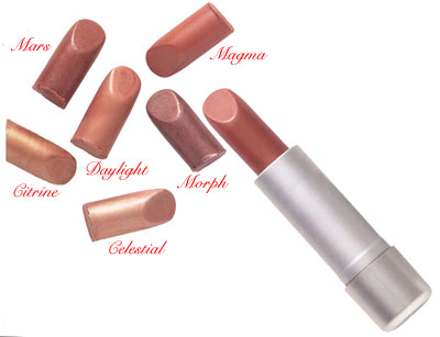 Please Click to Enlarge Studio Direct Heavenly Series Mineral Lipstick Color Selection Chart