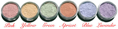 Click to Enlarge Studio Direct Cosmetics Bare Mineral Color Correctors Color Selection Chart