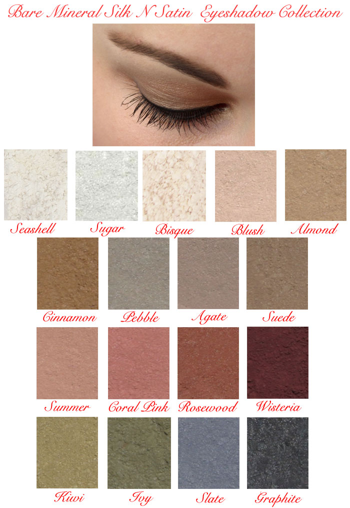 Studio Direct Silk N Satin Mineral Eyeshadows