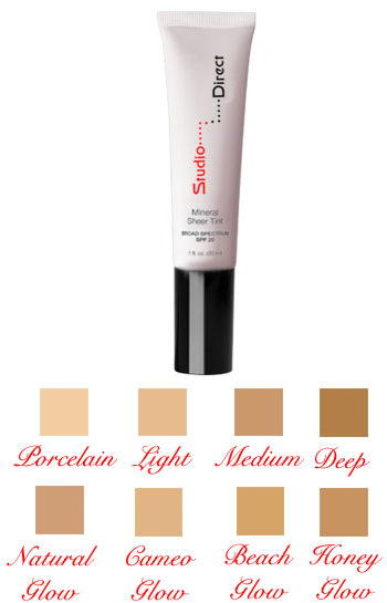Liquid Sheer Tint Mineral Foundation Cosmetic Makeup