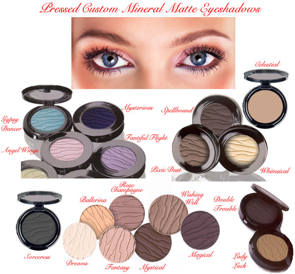 Bare Mineral Pressed Eyeshadows Eyeliners Cosmetic Makeup