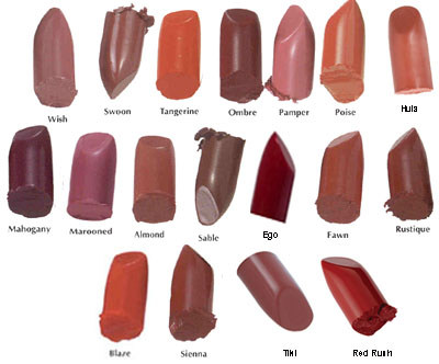 Studio Direct Long Lasting Lush Creme Lipstick Color Selection Chart